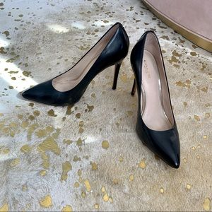 Coach Black Pointed toe pumps